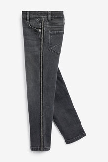 Next Animal Side Tape Skinny Jeans (3-16yrs)