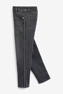 Next Animal Side Tape Skinny Jeans (3-16yrs)
