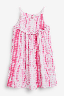 Next Tie Dye Dress (3-16yrs)