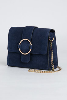 Chloe Suede Chain Bag