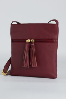 Julia Leather Crossbody Bag
