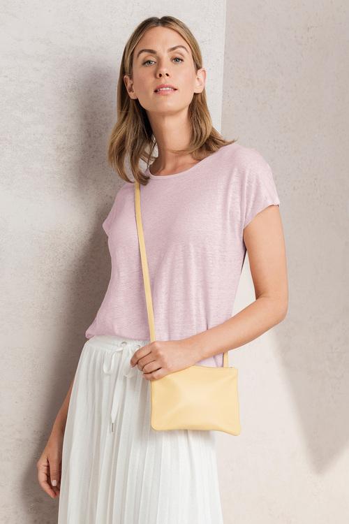 Minimalist Leather Crossbody Bag