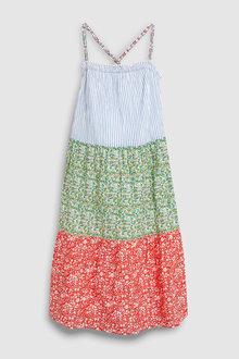 Next Tiered Maxi Dress (3-16yrs)