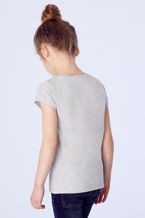 Next Grey Graphic T-Shirt