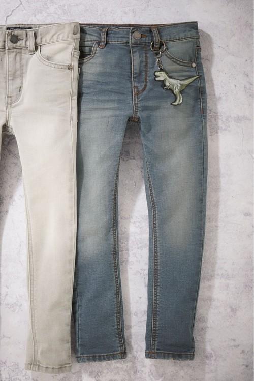Next Denim Vintage Jersey Super Skinny Jeans (5-16yrs)