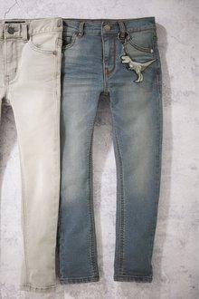 Next Denim Vintage Jersey Super Skinny Jeans - 242094