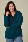 Plus Size - Sara Lambswool Hoodie