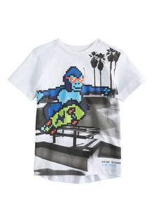 Next Pixel Monkey T-Shirt (3-16yrs) - 242169