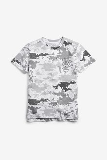 Next Camo T-Shirt (3-16yrs) - 242197