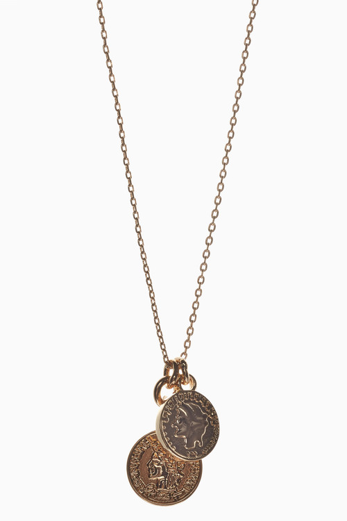 Next Coin Charm Necklace