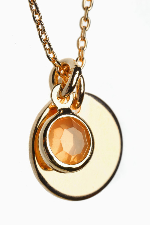 Next Semi Precious Effect Jewel Charm Necklace