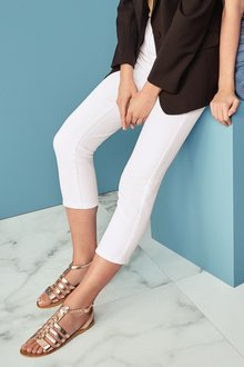 Next White Cropped Jeans - 242438