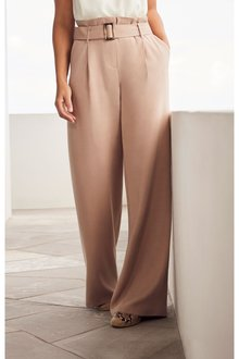 Next Neutral Emma Willis Wide Leg Trousers - 242451