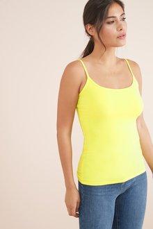 Next Yellow Thin Strap Vest - 242463