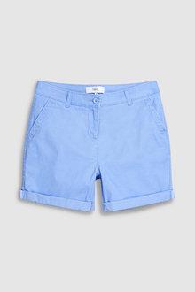 Next Blue Chino Shorts - 242481