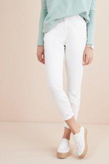 Next White Chino Trousers - 242490