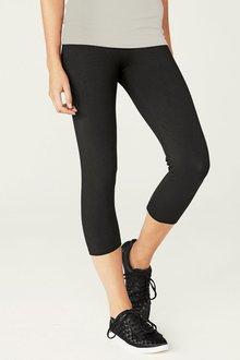 Next Black Cropped Leggings - 242492