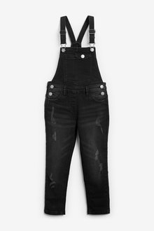 Next Denim Dungarees (3-16yrs)