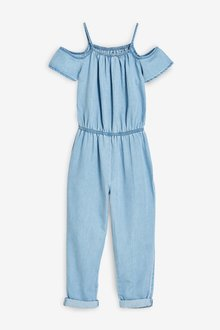 Next Cold Shoulder Jumpsuit (3-16yrs)