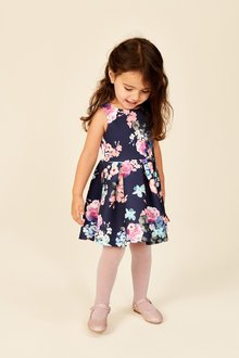 Next Scuba Floral Dress (1.5-16yrs)