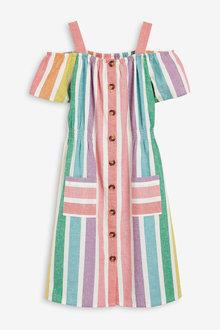 Next Rainbow Dress (3-16yrs)