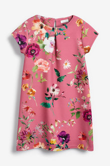 Next Floral Ponte Dress (3-16yrs)