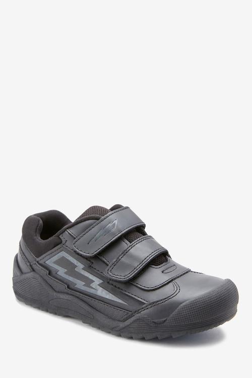 Next Leather Lightning Double Strap Shoes (Older)