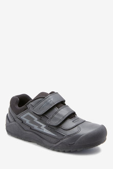 Next Leather Lightning Double Strap Shoes (Older)