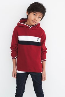 Next Colourblock Knitted Hoody (3-16yrs)