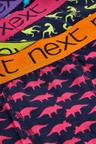 Next 5 Pack Dino Print Trunks (2-12yrs)