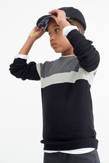 Next Colourblock Jumper (3-16yrs)