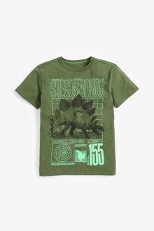 Next Stegosaurus Graphic T-Shirt (3-14yrs)
