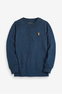 Next Long Sleeve Pique T-Shirt (3-16yrs)