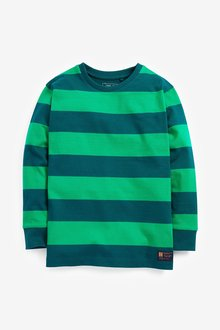 Next Long Sleeve Stripe T-Shirt (3-16yrs)