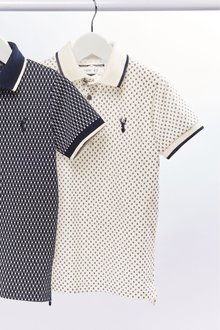 Next Geo All Over Print Polo (3-16yrs)