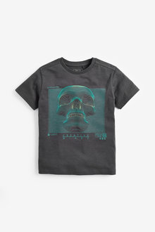 Next Skull Graphic T-Shirt (3-16yrs)