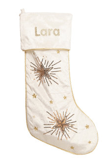 Personalised Elegance Stocking - 242745