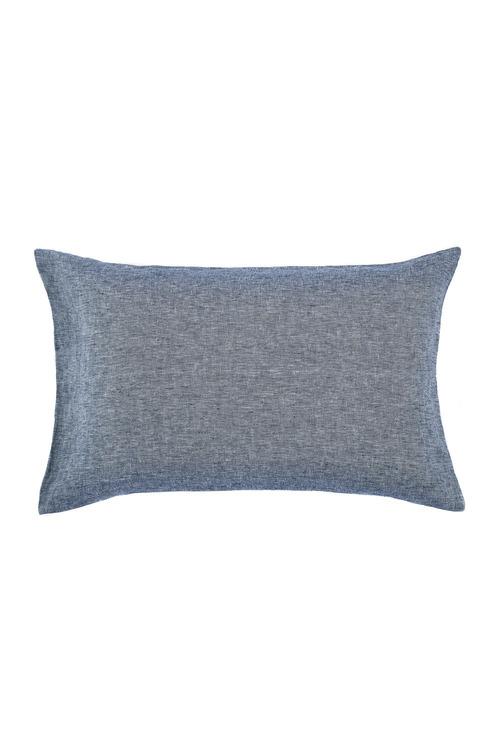 Hampton Chambray Linen Pillowcase Pair