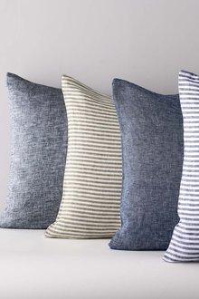 Hampton Chambray Linen Pillowcase Pair - 242754