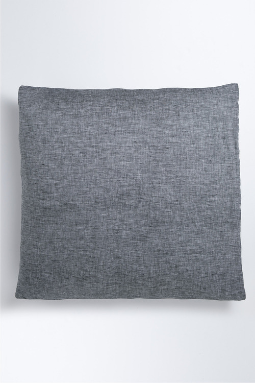 Hampton Chambray Linen European Pillowcase Pair