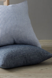 Hampton Chambray Linen Cushion - 242759
