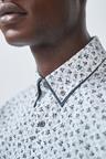 Next Double Collared Shirt-Regular Fit
