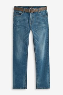 Next Jeans With Belt-Loose Fit
