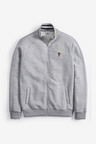 Next Piped Zip Through Funnel Neck
