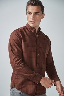Next Overdyed Check Shirt