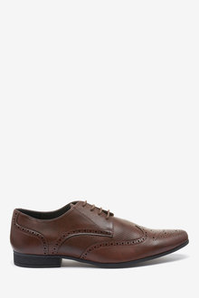 Next Perforated Brogues