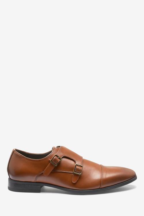 Next Double Strap Monk Shoes