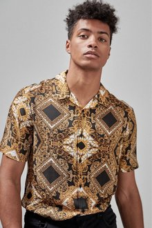 Next Baroque Print Short Sleeve Shirt
