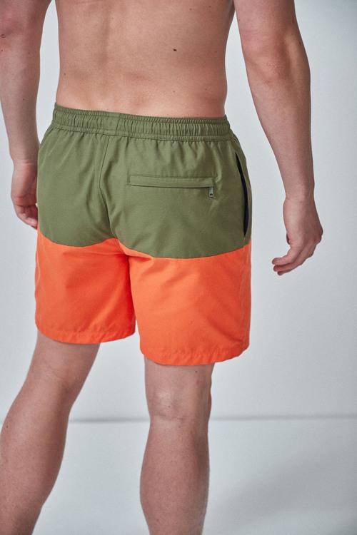 Next Signature Colourblock Swim Shorts
