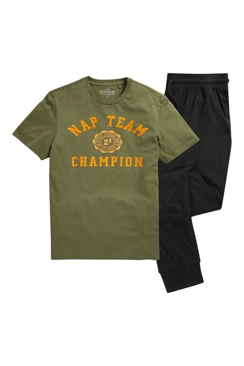 Next Nap Team Cuffed Jersey Long Set
